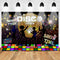Disco Party Backdrop Neon Adults Scene Setters Party Decoration Birthday Event Banner Portrait Photo Studio Background