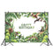 Customize Jurassic World Dinosaur Party Background for Photo Photography Backdrop Newborn Happy Birthday Theme Decoration