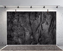 Photo Backgrounds Dark Black Carbon Stone Marble Surface Texture Pattern Cave Portrait Photographic Backdrops Photocall Studio