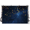 Twinkle Twinkle Little Star Photographic Background Navy Blue Stars Black Night of Interstellar Kids Vinyl Photo Studio