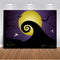 Nightmare Before Christmas Themed Backdrop for Halloween Pumpkin Jack Theme Birthday Baby Shower Photo Studio Photography Pictures Background Party Home Decor Decoration