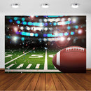 Photography Backdrops Football Field Kid Decor Party Backdrop Sports Custom Background Photo Studio Banner