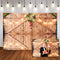 2020 Wood Photography Backdrops Christmas Background Backdrops Wooden Props Xmas Vinyl photo Backdrop Flowers For Wedding
