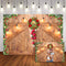 Wood Floor Photography Backdrops Christmas Background Backdrops Wooden For Wedding Props Xmas Vinyl photo Backdrop Flowers