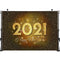 Photography Background Happy New Year 2021 Firework Champagne Clock Party City Night Decor Backdrop Photo Studio Props