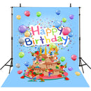 photo booth backdrop birthday Party happy birthday cake photo backdrops for baby vinyl one birthday photo background baby boys 1st birthday backdrop ideas photos customized birthday party photo backdrop 1st birthday