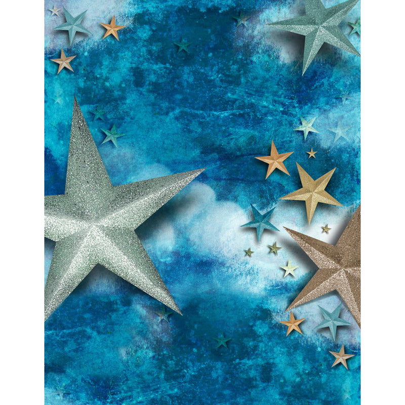 starry night backdrop for baby shower photo backgrounds stars and moon photo booth props night sky for girls twinkle twinkle little star backdrop decorations gender reveal backdrop night under the stars backdrop sway stars and clouds photo backdrops