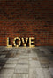 Valentine Party Photography Backdrops Brick Wall Photo Backdrop For Picture Love Valentine's Day Background Photo Studio