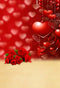 Valentine Party Photography Backdrops Red Rose Flowers Photo Props Bokeh Love Heart Valentine's Day Background Photo Studio