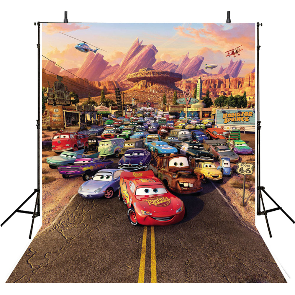 Photo Background Film Party-photo Backdrops Film Cars