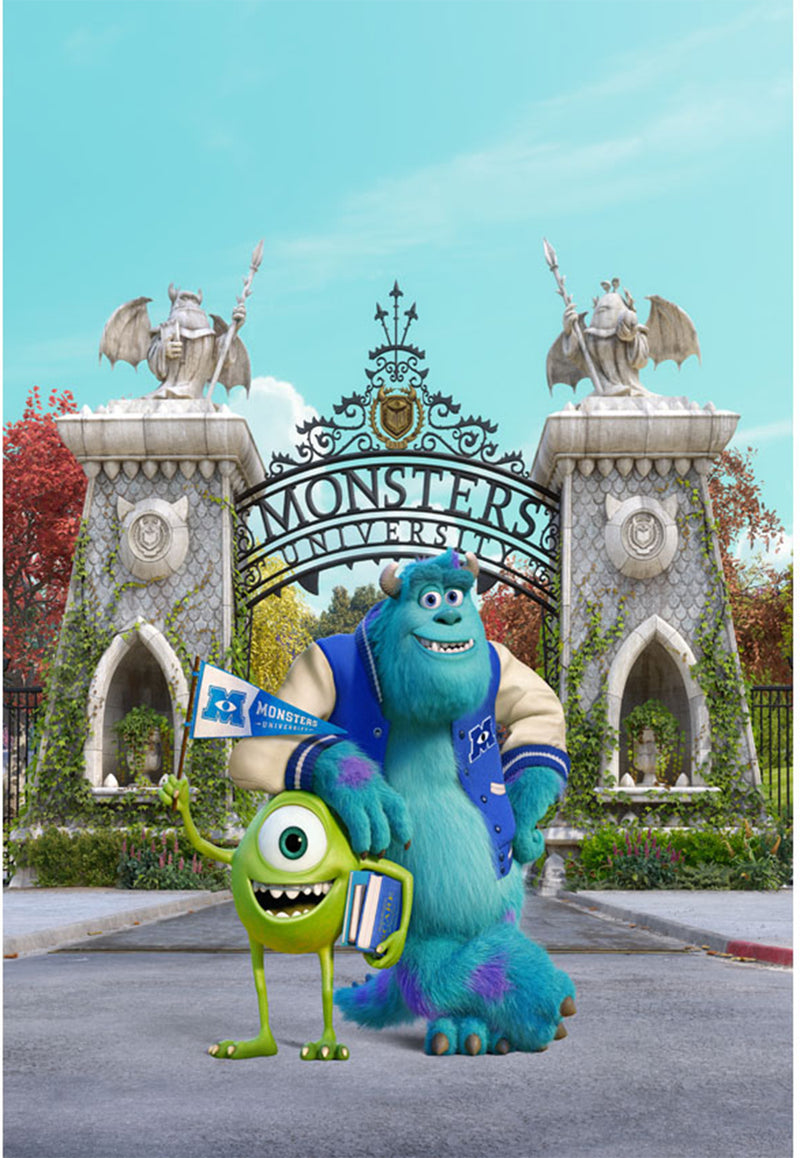 Photo background-photography backdrops Monsters-backdrops Monsters-backdrop for pictures movie theme-photo booth props disney movie-photo backdrop Monsters-photo booth props Monsters