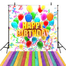 photo booth backdrop birthday Party happy birthday balloons photo backdrops for girls 5x7 vinyl birthday photo background baby boys 1st birthday backdrop ideas photos customized birthday party photo backdrop 1st birthday