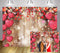 Valentine's Day Wood Red Love Heart Backdrops Photography Mother's Party Background Wedding Bridal Shower Photo Booth Studio