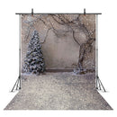 Snow Portrait Backdrop for photography Snowflake Background for photo booth studio Christmas Tree Photocall fondos navideños