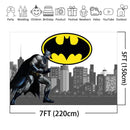 Superhero Batman Backdrop Avengers Children Birthday Party Decorations Banner Customized Photography Background Photobooth