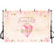 Sweet one backdrop for photography Pink heart background for photography party decoration supplies newborn baby one birthday