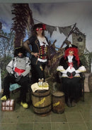 Caribbean Pirates Birthday Ship Photography Backdrops Kids Theme Party Photo Booth Background Studio Computer Printed
