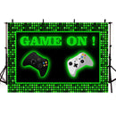 Video Games Themed Party Backdrop Game Room Decoration Background Game Birthday Party Photo Booth Supplies
