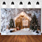 Winter Snow Vinyl Photography Backdrops Christmas Backdrop Newborn Baby Photographic Background Photo Studio Backdrop Photo Props