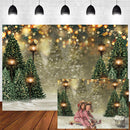 Bokeh Banner Decor Vinyl Photography Backdrops Christmas Backdrop Newborn Baby Photographic Background Photo Studio Backdrop Photo Props