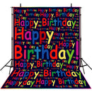 8x10 photo booth backdrop birthday Party happy birthday balloons photo backdrops for girls vinyl birthday photo background baby boys 1st birthday backdrop ideas photos customized birthday party photo backdrop 1st birthday