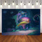 Aquarium backdrop devil fish background for photography studio ocean party decor photo background video vinyl