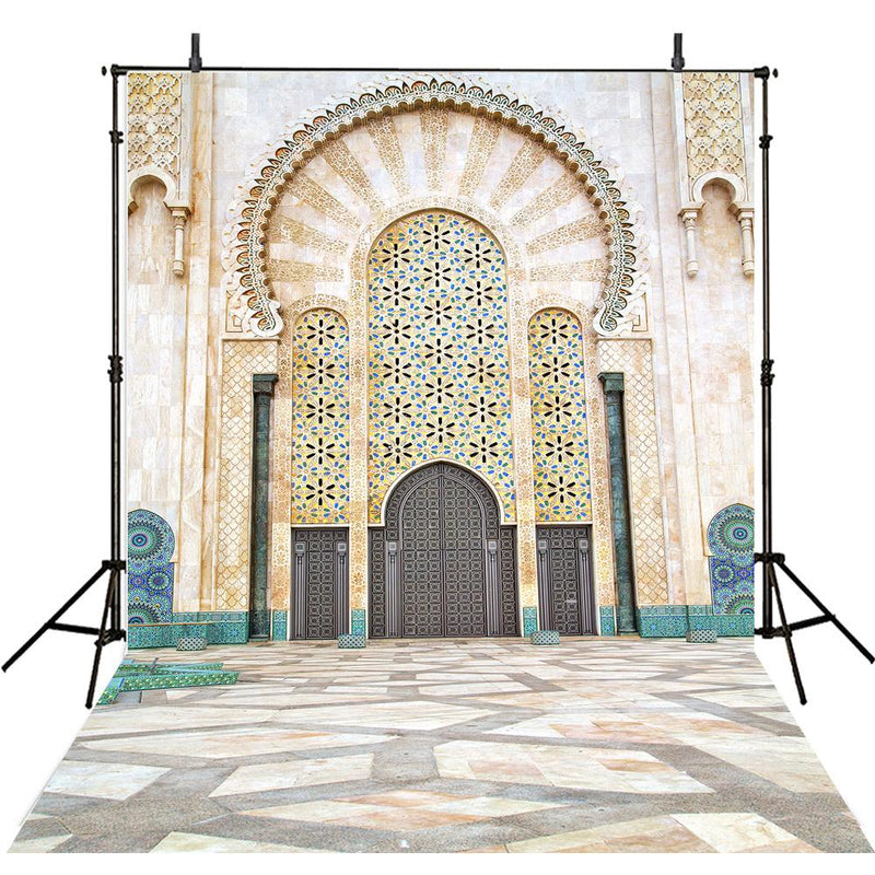 Architecture Photography Backdrops Building Door Marble Photography Background For Photo Studio