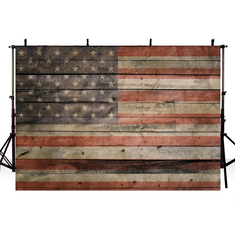 American Flag Photography Backdrops American Independence Day Background Backdrops Vinyl photo Backdrop