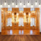 Interior Photography Backdrops Wedding Indoor Home Party Decoration Background Backdrops Golden Vinyl photo Backdrop