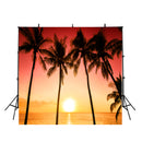 beach sunset photo backdrop beach photography backdrop hawaii luau photo booth props summer holidays background large hawaiian photo booth props
