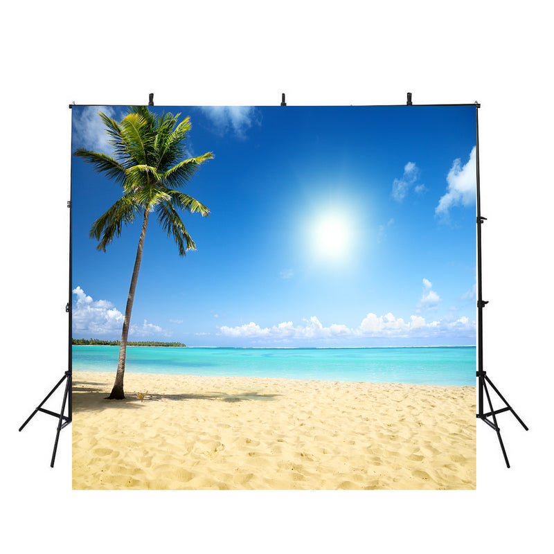 tropical beach photo backdrop sea beach scenery photography background hawaii luau photo booth props large vinyl background for photography