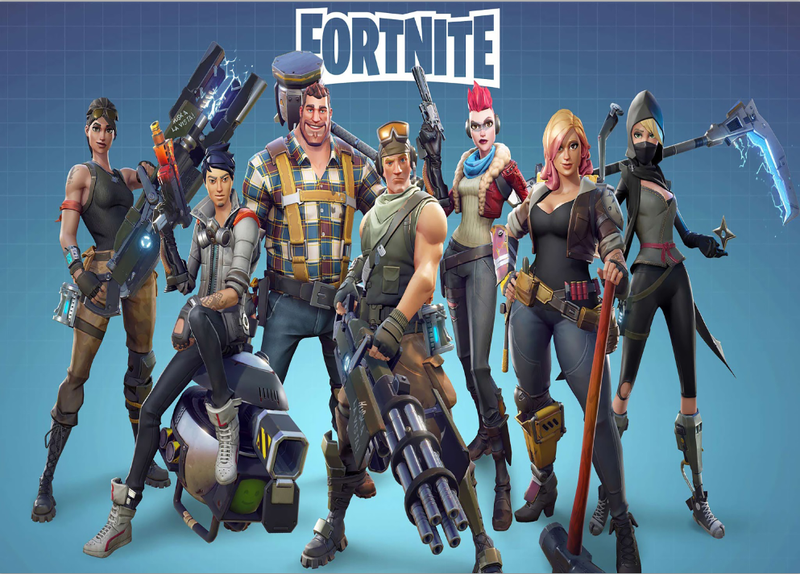 Battle Royale Video Game Party Photography Background Fortnite Game Children Boys Birthday Party Supplies for Game Fans Baby Shower Party Photo Backdrops Kid's Party Banner