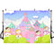 Cartoon Photography Backdrops Kids Party Idea Banner Background Clouds Backdrops Photo Studio