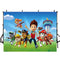 Paw Patrol Photography Backdrops Kids Vinyl Photography for Backdrop Cartoon Photo Backgrounds for Photo Studio
