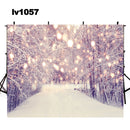 hot winter snow photo backdrop Christmas photography background Merry Xmas photo booth props home party decor Vinyl Fabric backdrops