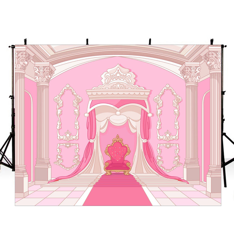 photo booth backdrop pink 8x6 backdrops customized princess photo backdrop for girls photo backdrop Queen for girls background for photography quinceanera party backdrops for photographers birthday photo backdrop vinyl