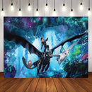 Photography background How to Train Your Dragon 3 Sea Fly Children Backgrounds Professional Indoor studio Backdrop Banner