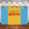 Stripes Photography Backdrops Cartoon Customize Children Happy Birthday Party Decor Clouds Backdrop Photo Studio Banner