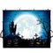 halloween photo booth backdrop night scenes 8x6 backdrop for picture Pumpkin Lantern photography background for kids photo props