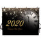 2020 New Year Bells Photography Background Sparkle Home Decor Party Banner Photo Studio Vinyl Photo Prop