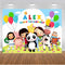 Little Baby Bum Photography Background LBB Kids Birthday Banner Photo Studio Custom Baby 1st Birthday Vinyl Photo Prop