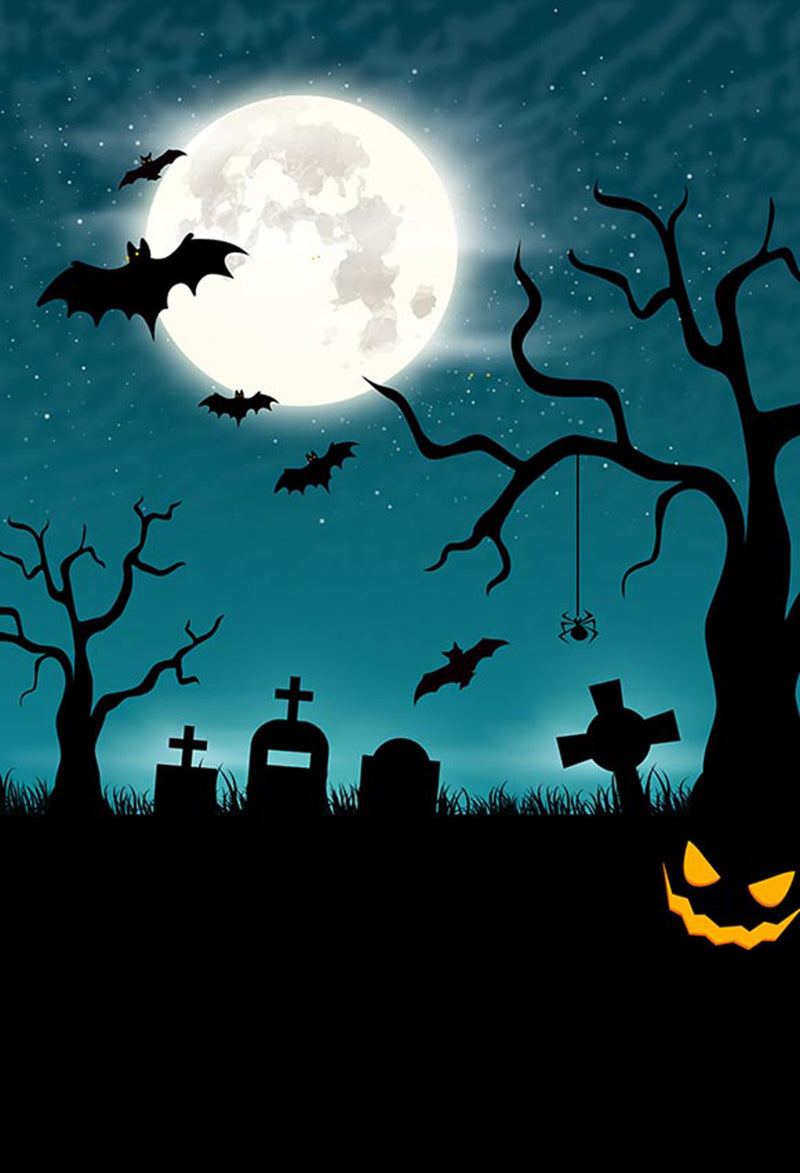 black light photo backdrop halloween 6x9ft halloween graveyard photo backdrop night moon