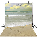 sea beach photo backdrop summer tropical backdrop for picture photography background photo backdrop beach scene 6x9 backdrop Hawaii theme photo booth props luau