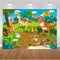 Jungle Safari Animals Zoo Photo Background Dinosaur Jurassic Park Party Decoration Kids Birthday Banner Backdrop for Photography Studio