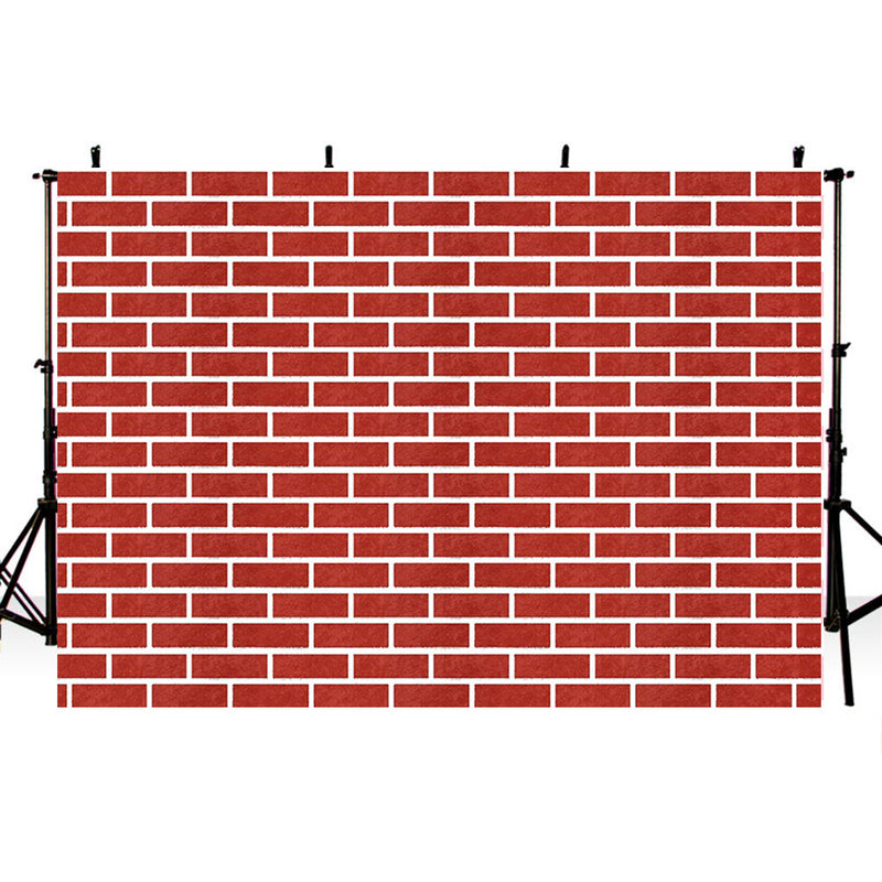 Red Brick Wall Photography Backdrops Home Decoration Photo Props Valentine's Day Background Photo Studio Adults