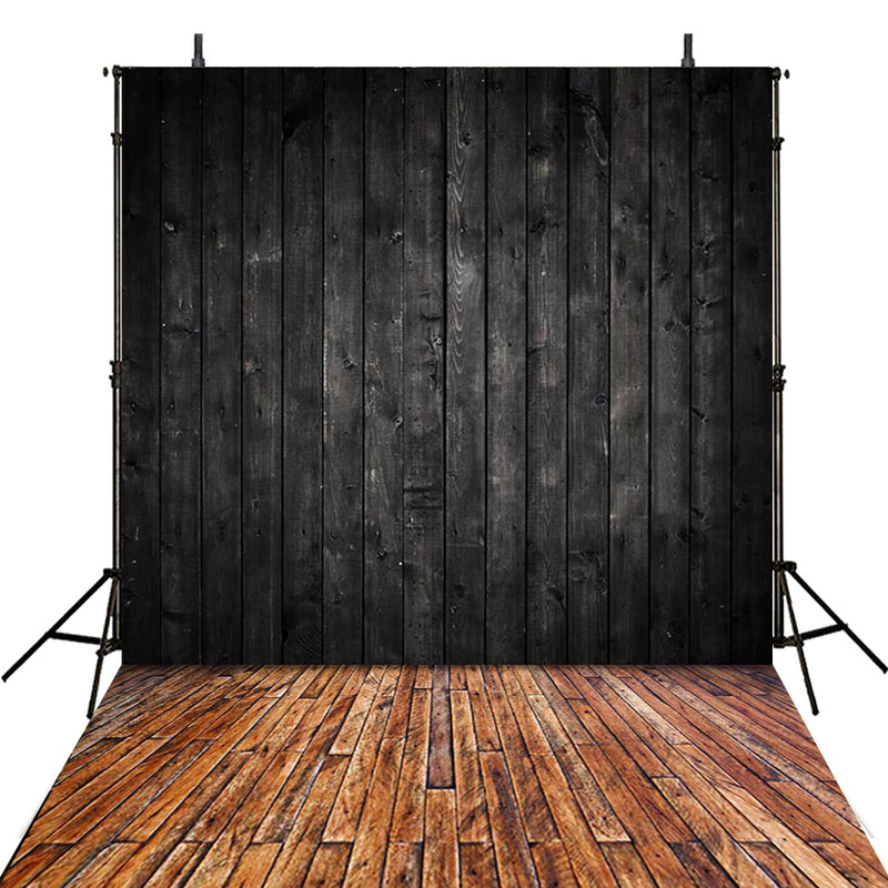 photo backdrop black wood photography backdrop wood plank 10x20 background for picture wooden look photo booth props wooden floor