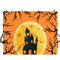 halloween photo door banner backdrop props 10x8 large halloween photo backdrop vinyl photo studio background yellow