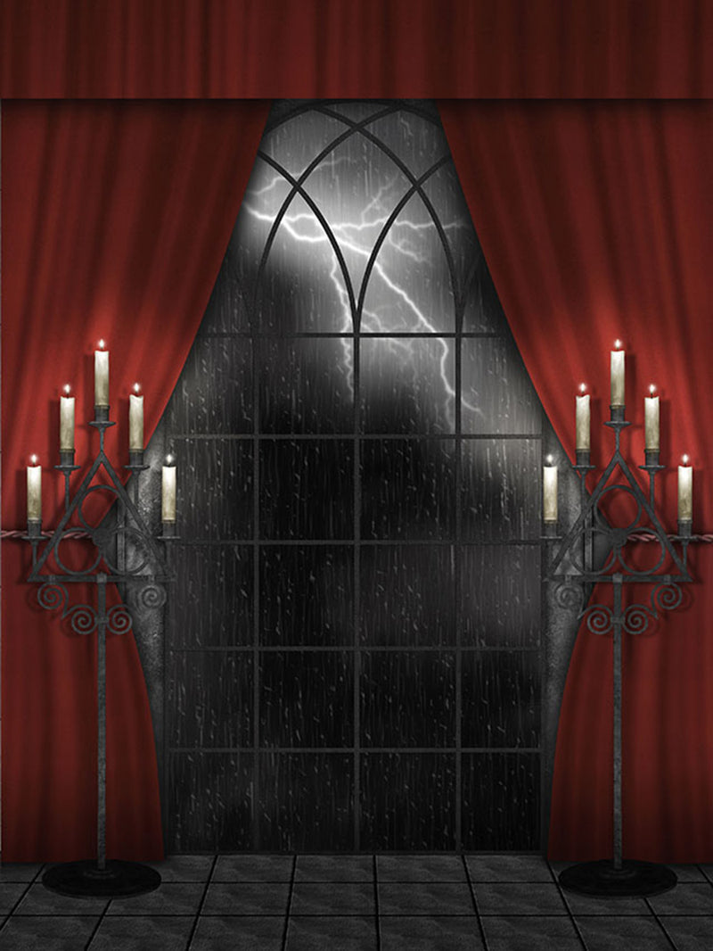 halloween photo booth backdrop night moon backdrop for picture 8x10 photography background door photo props scary