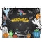 halloween theme photo booth backdrop black backdrop for picture Pumpkin Lantern photography background ghost photo props Zombie