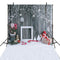 Christmas photo backdrop wood floor photography background snow photo booth props Merry Xmas backdrops children